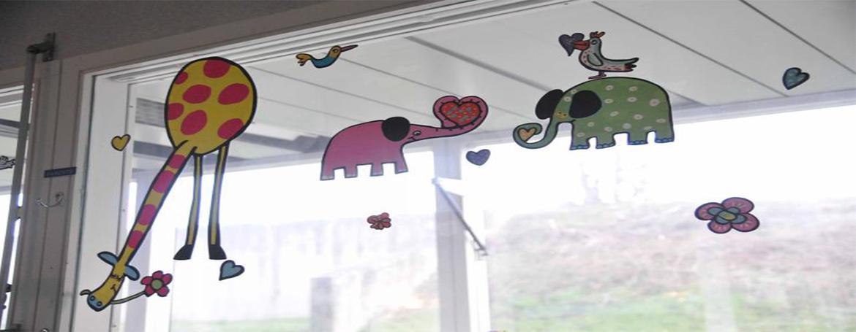 Decoration salle des familles